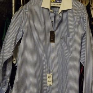 Men's French cuff dress shirt